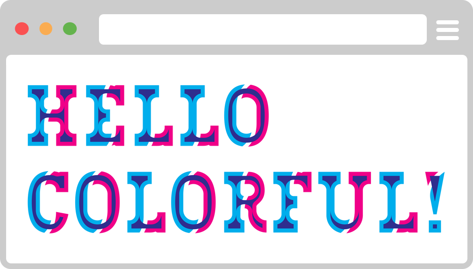 Bixa Color — The first chromatic font for the web
